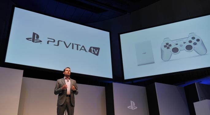 Sony Unveils PlayStation Vita TV To Take On Apple TV, Chromecast AAPL, GOOG, SNE