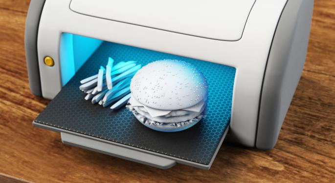 5 Companies That Just Might Object To 3D Printed Food