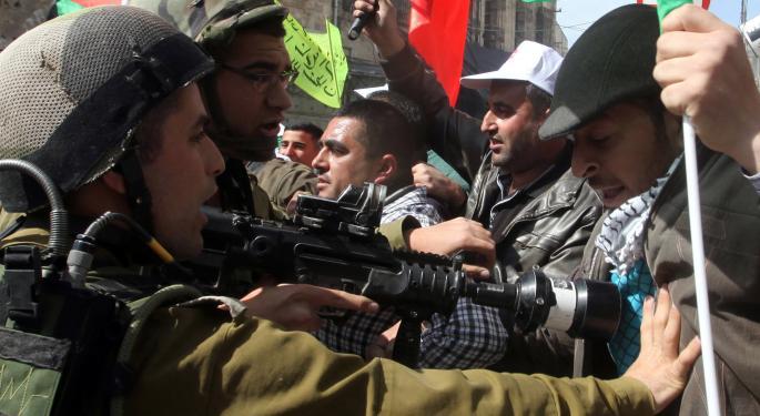 4 Defense Stocks To Watch Amid Israeli - Palestinian Unrest