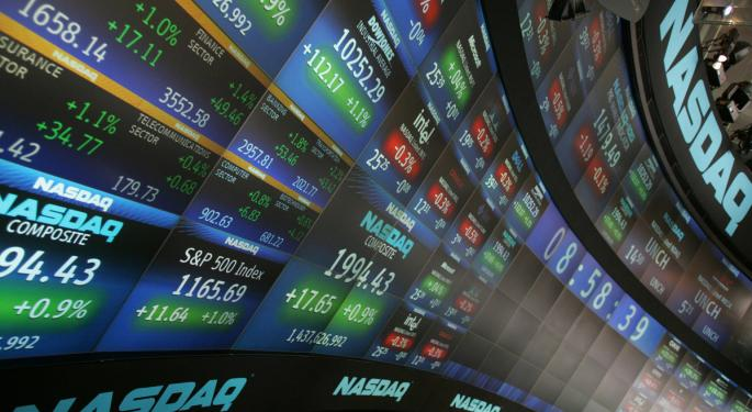 Mid-Morning Market Update: Markets Open Mixed; Darden Profit Misses Estimates