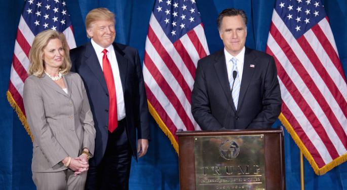 The Final List of ETFs a Romney Win Could Benefit