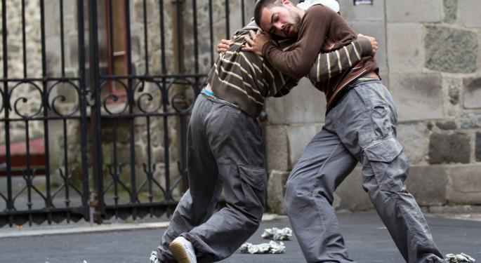 Technical Street Fight: Apple vs. Facebook AAPL, FB