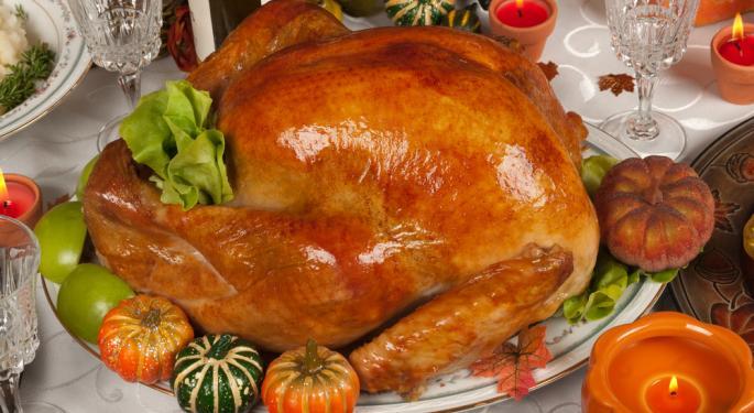 10 Interesting Thanksgiving Statistics for 2013
