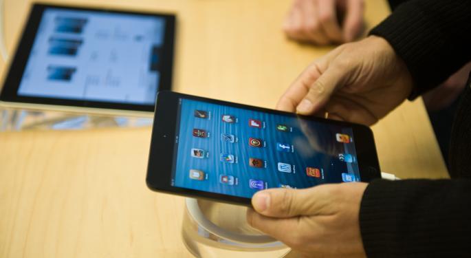 iPad Mini Shipments May Fall 30%