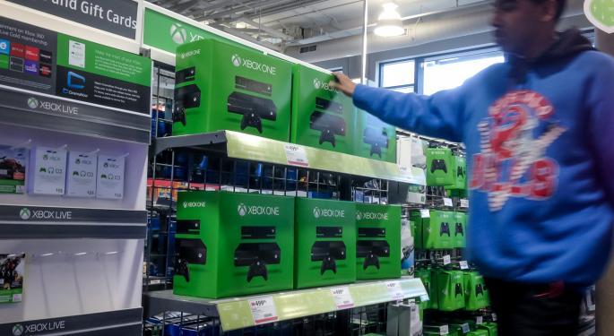 PlayStation 4 vs. Xbox One November Sales