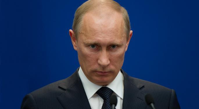 Barron's Recap: Bad News For Putin