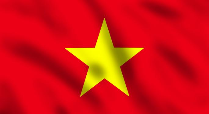Headlines Lifting Vietnam ETF