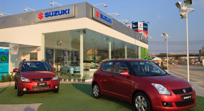 Suzuki Motor Company Ends Car Sales in U.S.
