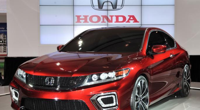 Honda Earnings Fall Behind American Automakers HMC