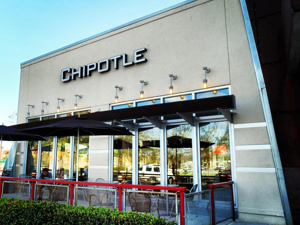 Chipotle's sales disappoint, shares dive 6 percent