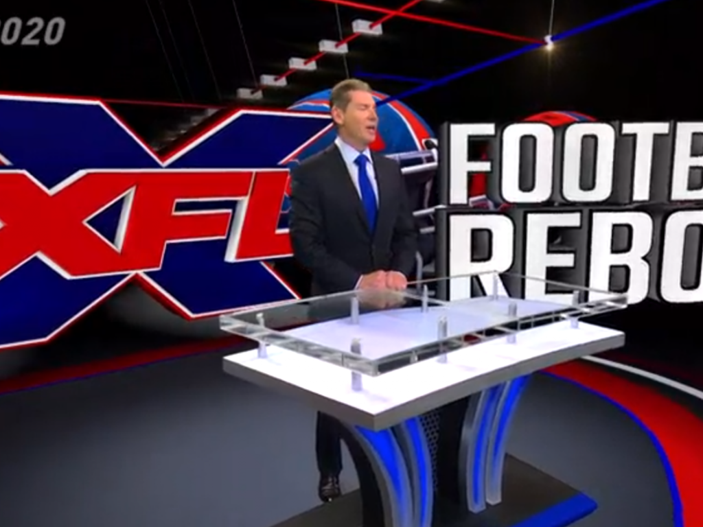 XFL Will Return in 2020 After Vince McMahon Formed Alpha Entertainment