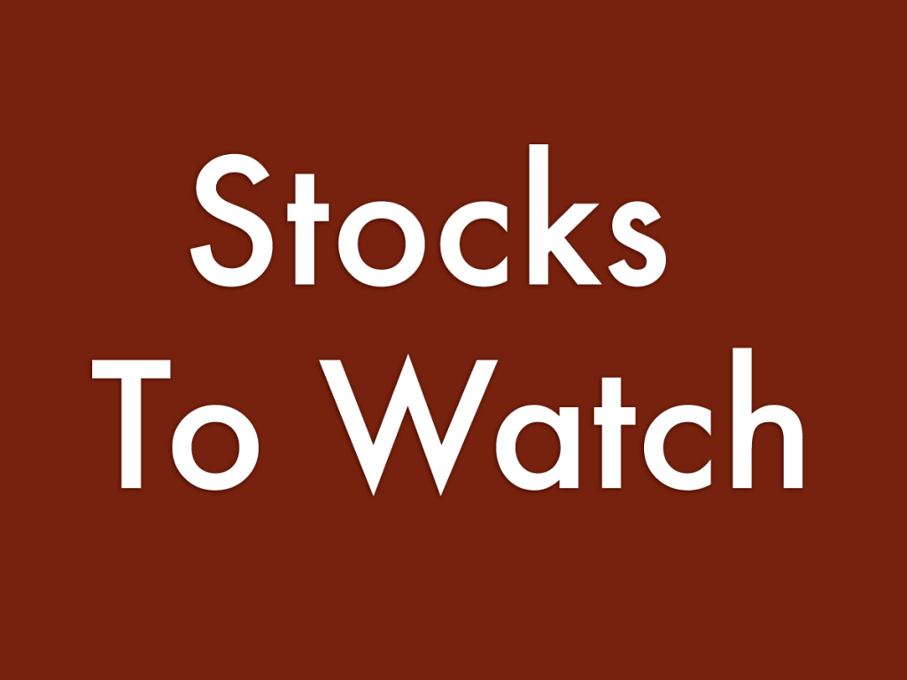 8 Stocks To Watch For