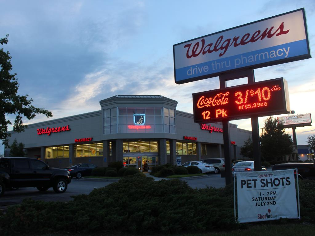 Walgreens Boots Alliance plans to repurchase as much as $10 billion of its shares and raised its dividend, as the drugstore chain and newest Dow component becomes the latest company to return.