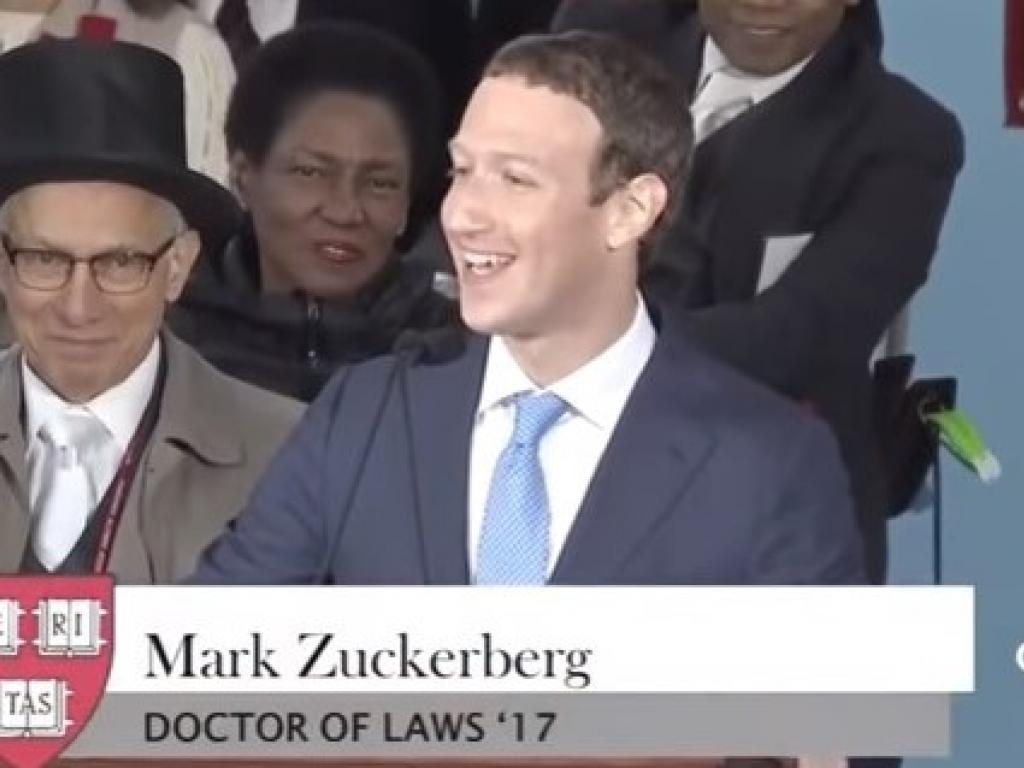 Mark Zuckerberg chokes up while speaking about an undocumented student
