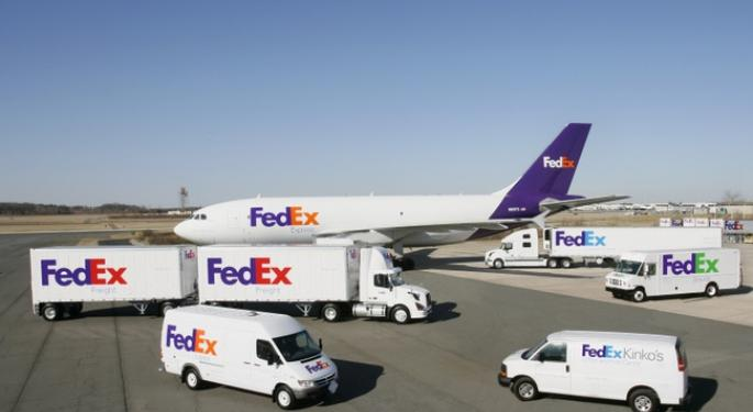 FedEx Down 2 Percent After Earnings and Guidance; Hikes Shipping Rates