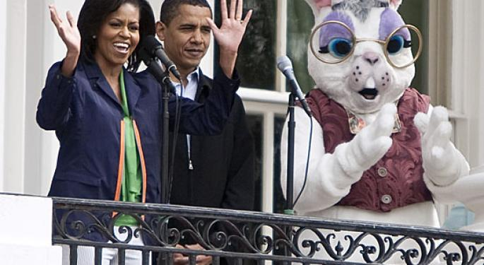 Easter with Michelle Obama: Campaign Against Obesity