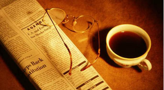 Financial Breakfast: Morning News Summary for August 1, 2012