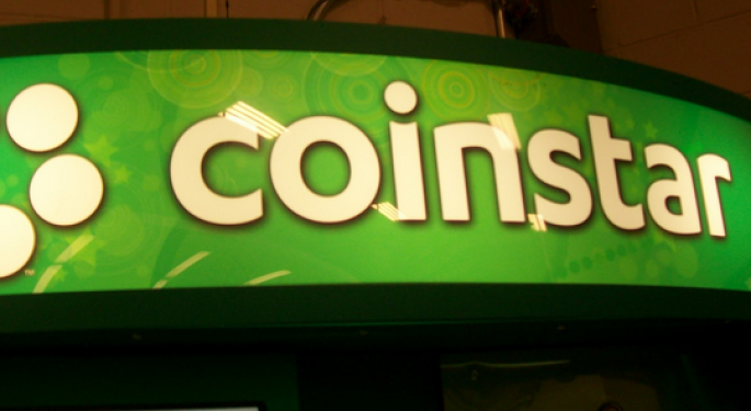 Coinstar Rallies on Reports Company is PE Target