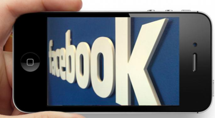Facebook Won't Build an iPhone 5 Competitor