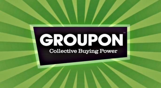Groupon Shares up on Potential Earnings Surprise
