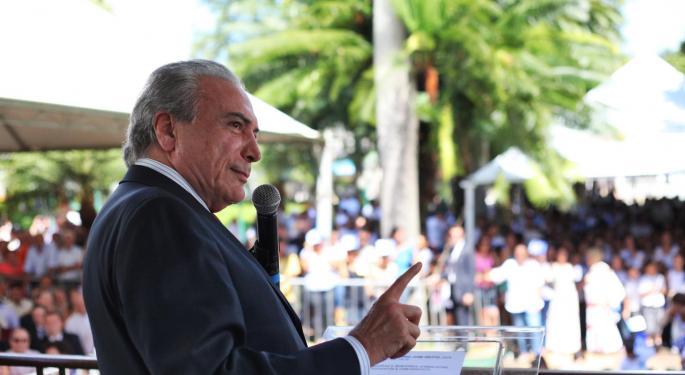 President Temer Bribery Report Is Crushing Brazil