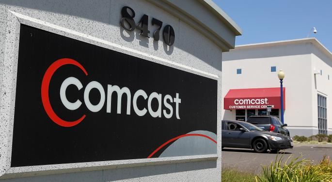 Comcast, Time Warner Move Higher Amid Dissolution Of Acquisition