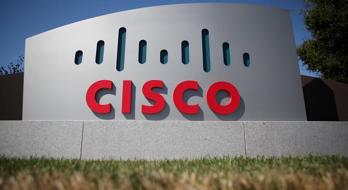 Cisco Falls After Q4 Report CSCO