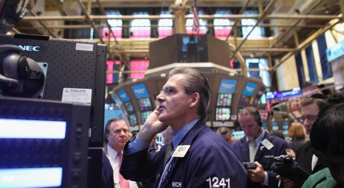 Mid-Morning Market Update: Markets Gain; J.P. Morgan Q4 Profit Beats Street View