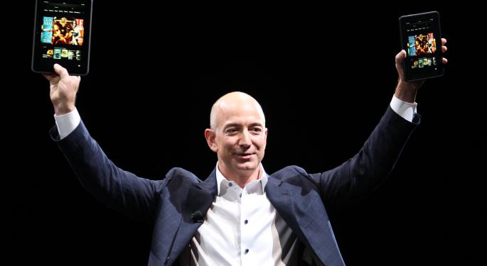 Amazon CEO Jeff Bezos Goes Over Affordable New Line Of Kindles