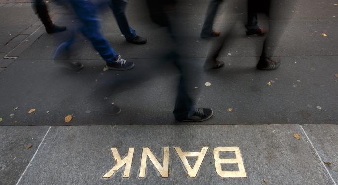 Among the Stars of the November Rally: Bank Stocks