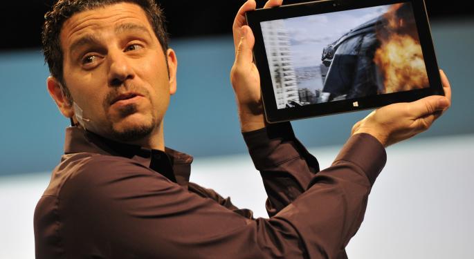 Microsoft Surface Pro 2 Tablets Make NFL Debut