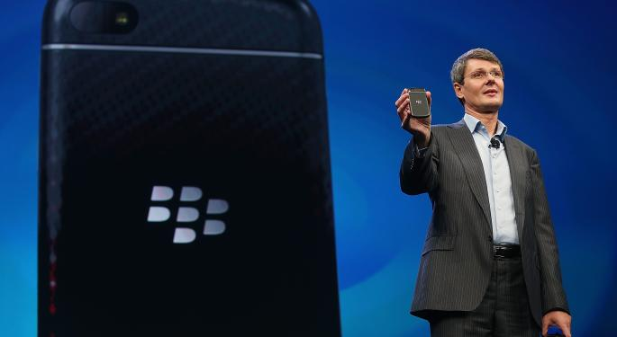 Cerberus Reviewing Financials and Considering a Bid for Blackberry