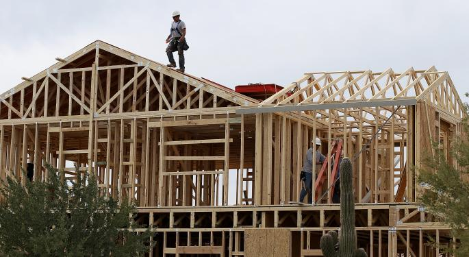 Homebuilders Higher On May's Existing Home Sales Report