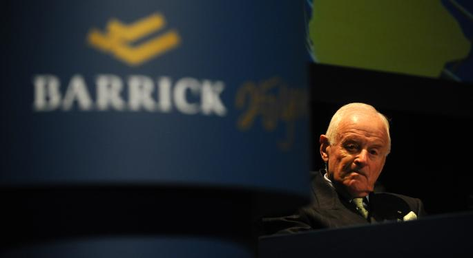 Does Barrick Gold's Axing its CEO and Founder Signal a Market Bottom?