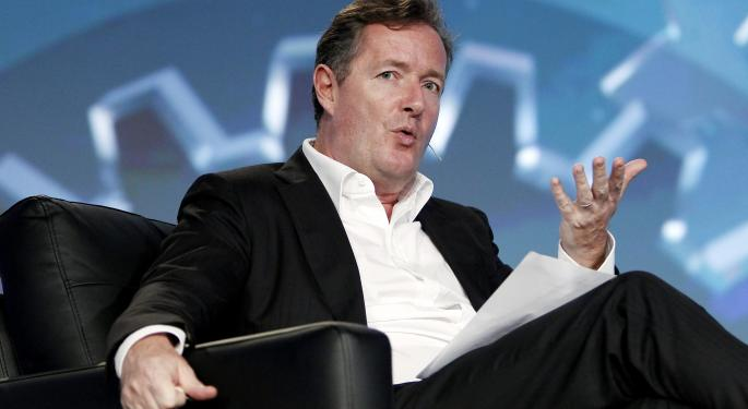 Piers Morgan Holding on, Thanks To Twitter?