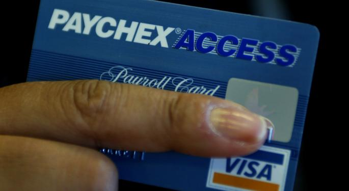 Paychex, Inc. Lagging Peers & The Market