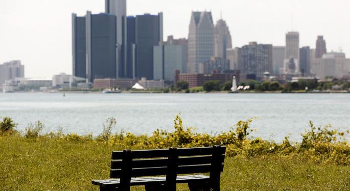 Why Detroit Won't Open A 'Floodgate' Of Municipal Bankruptcies