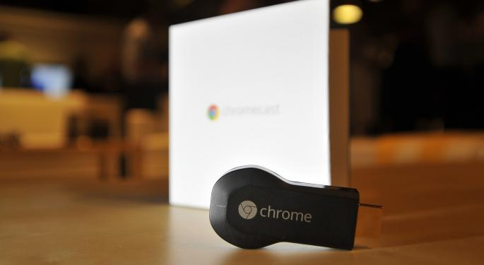 First Chromecast Shipment Sold Out GOOG