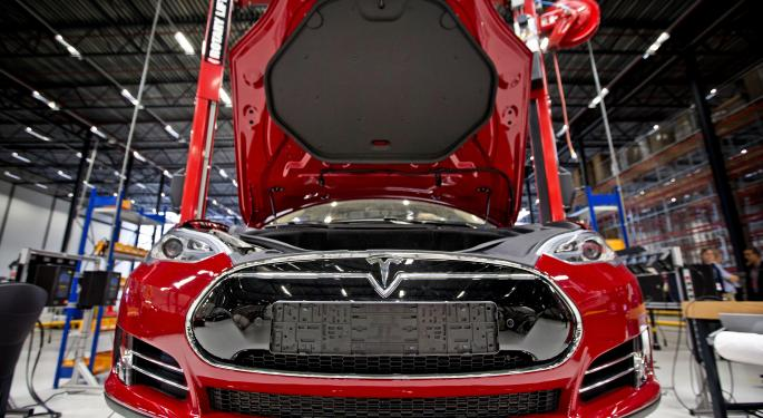 Could Tesla Motors Inc Stock Be Headed For Double Digits?