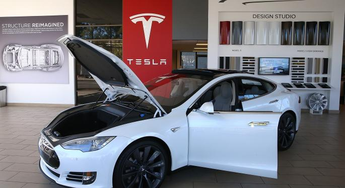 Tesla Motors Inc Shares Continue To Fall