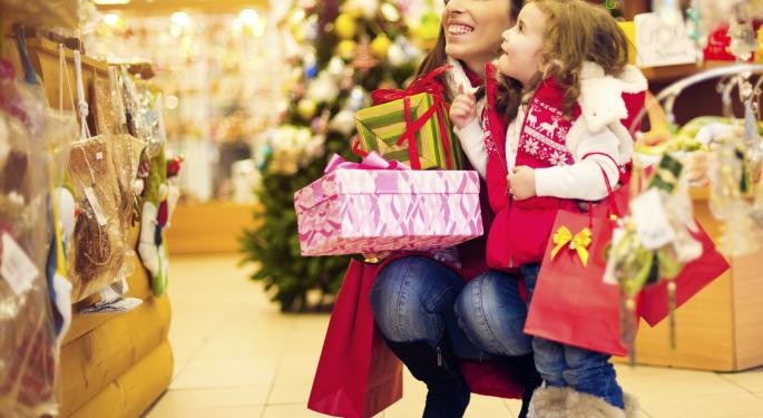 Retail ETFs Hitting Highs Ahead Of Holidays