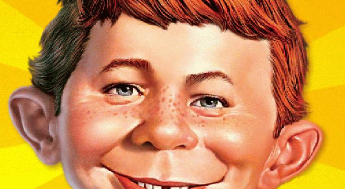 The Alfred E. Neuman Stock Market