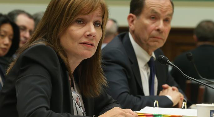 GM Promotes CEO Mary Barra To Chairman