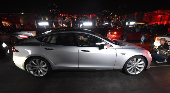 Tesla Model S Vs. Snowmobile: Elon Musk Tweets Video Showing Insane Drag Race Performance