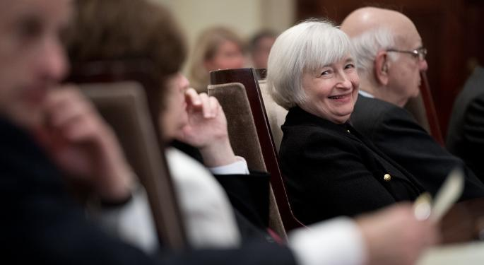 Janet Yellen's Testimony Makes A Good First Impression With Analysts