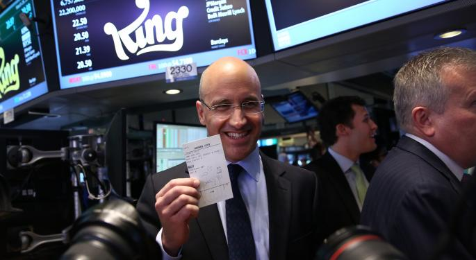 King Digital CEO Confident In Future Following Rough IPO