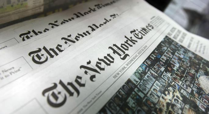 'The New York Times' Family Says, 'Not For Sale'