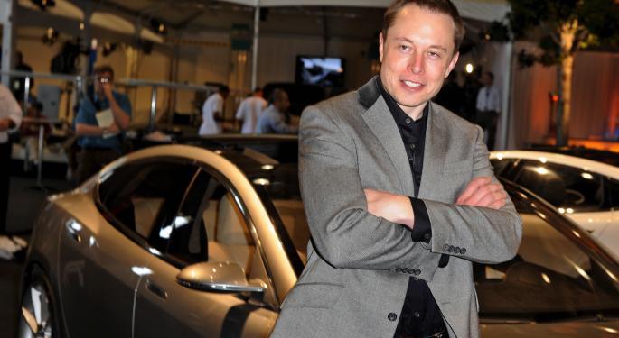 Tesla Leaves Treadmarks All Over The Bear's Backs