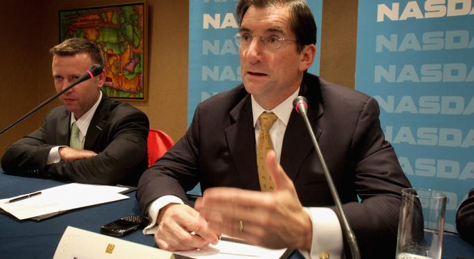The Nasdaq's Robert Greifeld Responds To Thursday's Trading Halt