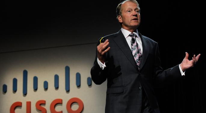 Cisco Systems, Inc. Off Its Highs And Failing To Show Any Real Fight